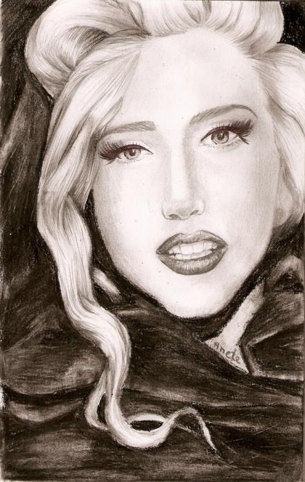 Lady Gaga by minka-impro
